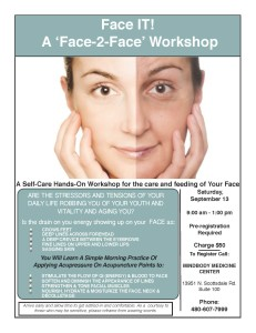 Face IT! A 'Face-2-Face' Workshop @ MindBody Medicine Center | Scottsdale | Arizona | United States